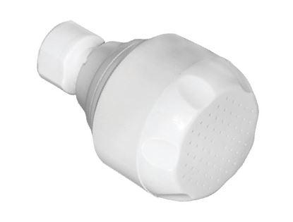 תמונה של ראש מקלחת רעננית לבן