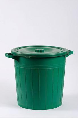 תמונה של פח אשפה 50 ליטר
