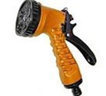 תמונה של אקדח מים 10 מצבים פלסטיק כתום