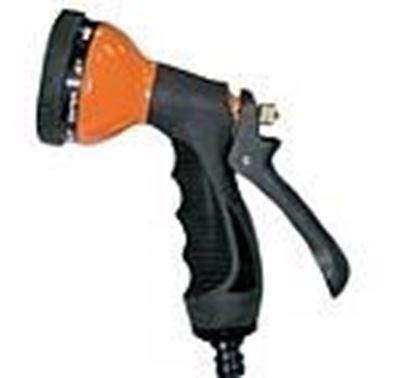 תמונה של אקדח מים 10 מצבים מתכת שחור
