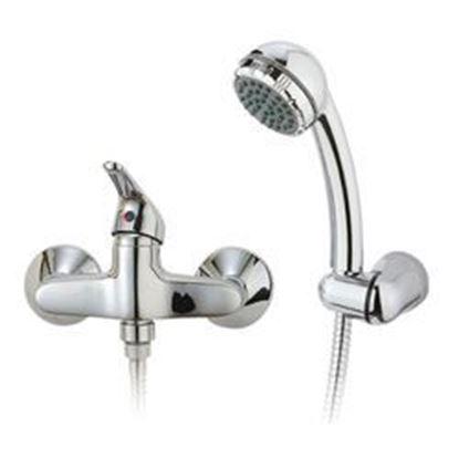 תמונה של סוללה למקלחת עינבר 69020