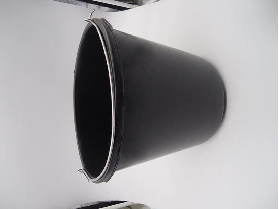 תמונה של דלי עבודה שחור